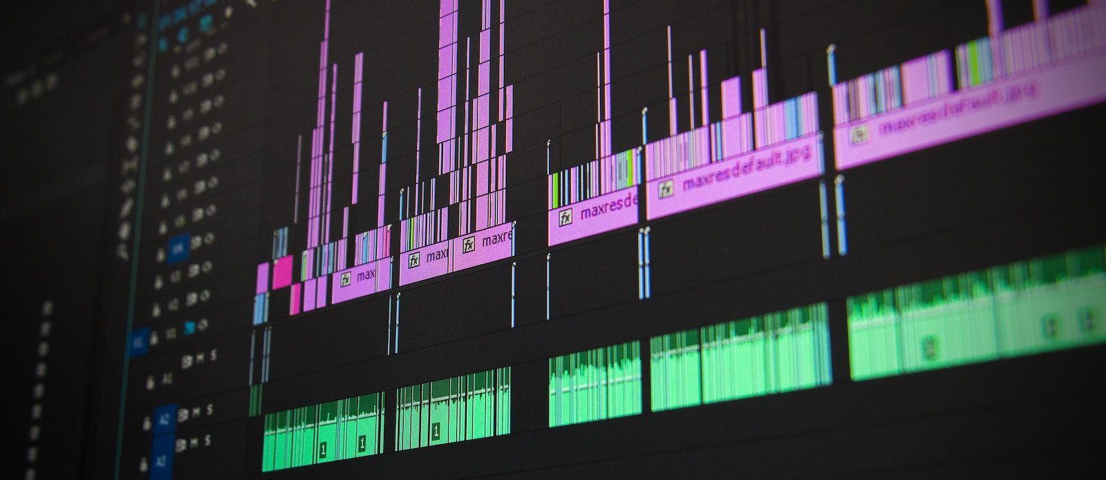 Picture of a Video Editing Program - Inbound Content Marketing Strategy for Higher Education