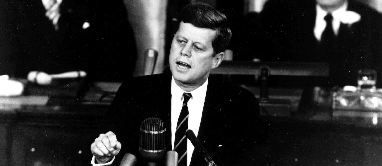 President Kennedy's famous declaration to Congress and the Nation on May 25, 1961
